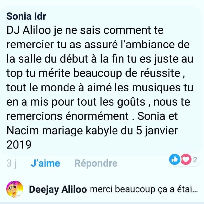 dj oriental paris avis mariage kabyle